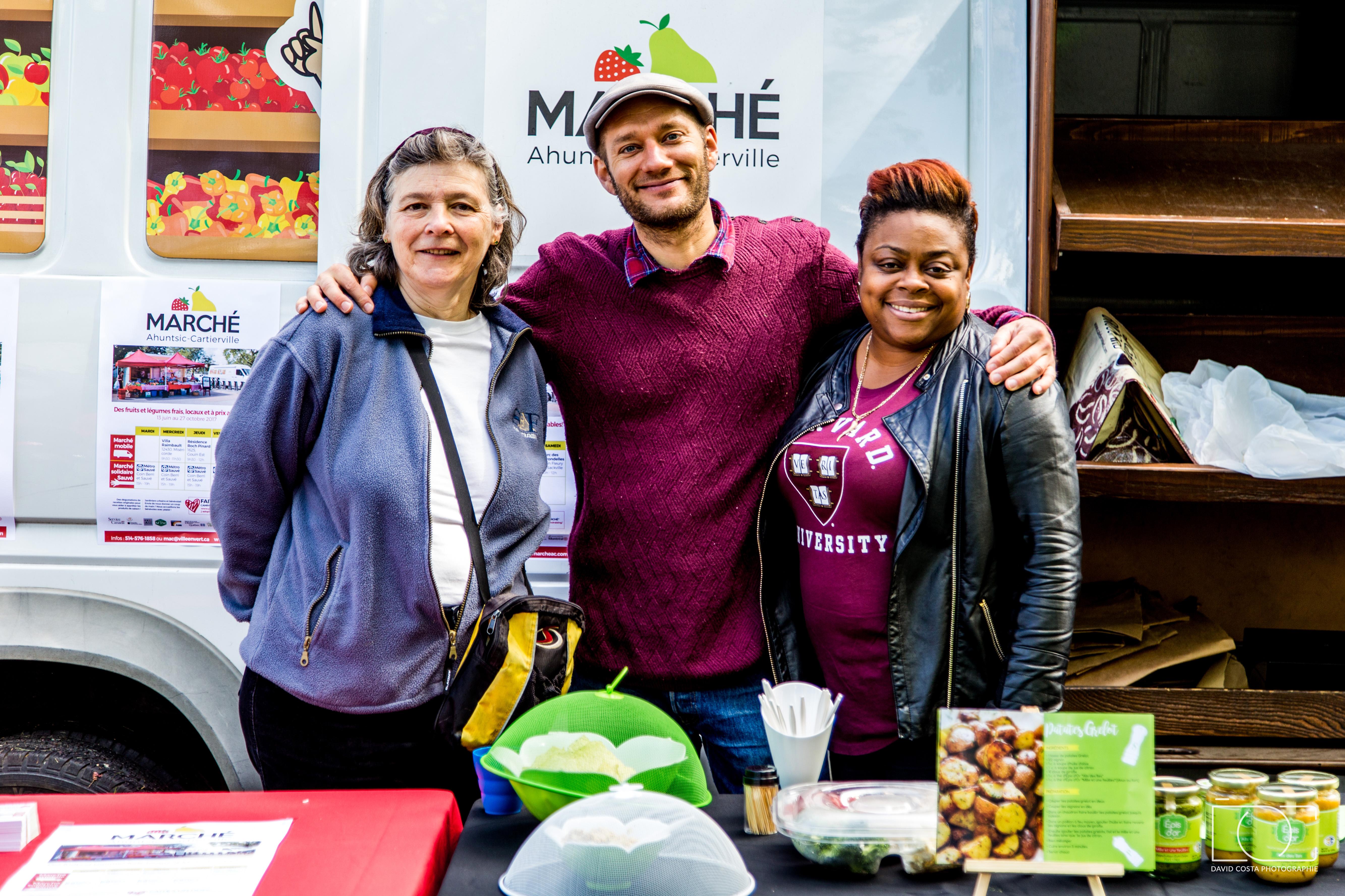 Le Marché Ahuntsic Cartierville débute sa saison 2017 (13 juin - 27 octobre)