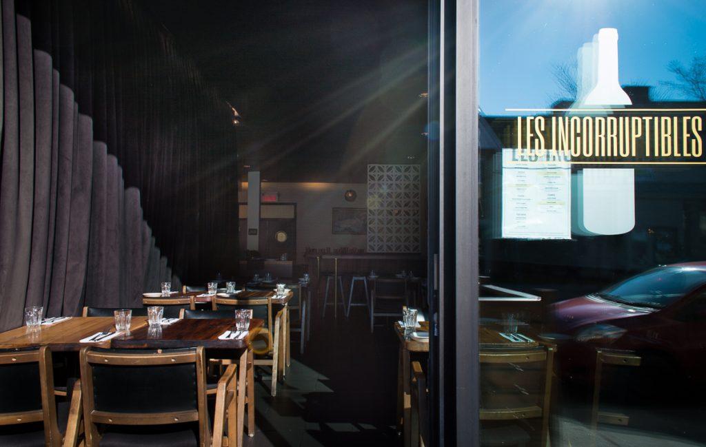 restaurant les incorruptibles
