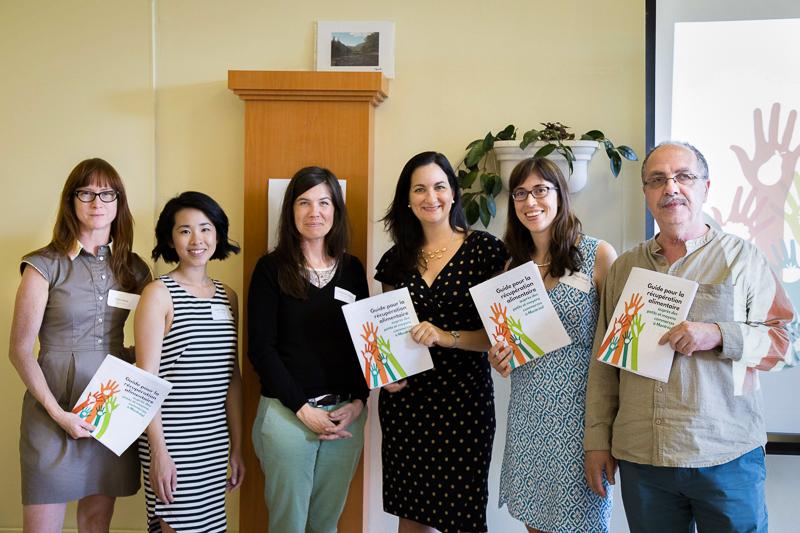 Lancement du Guide de récupération alimentaire