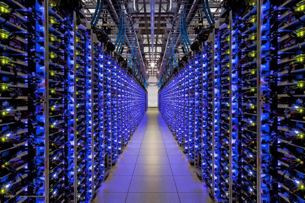 Photo - centre de données - empreinte carbone