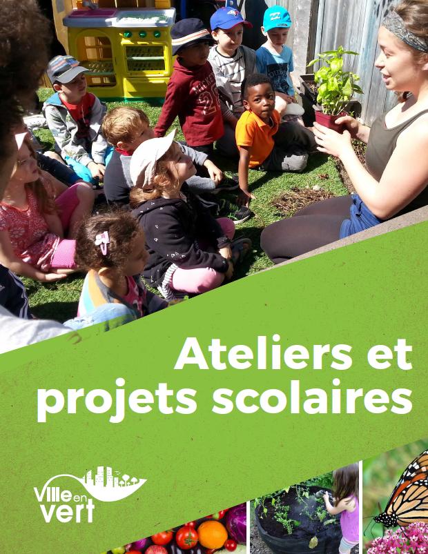 Ateliers et projets scolaires - Ville en vert