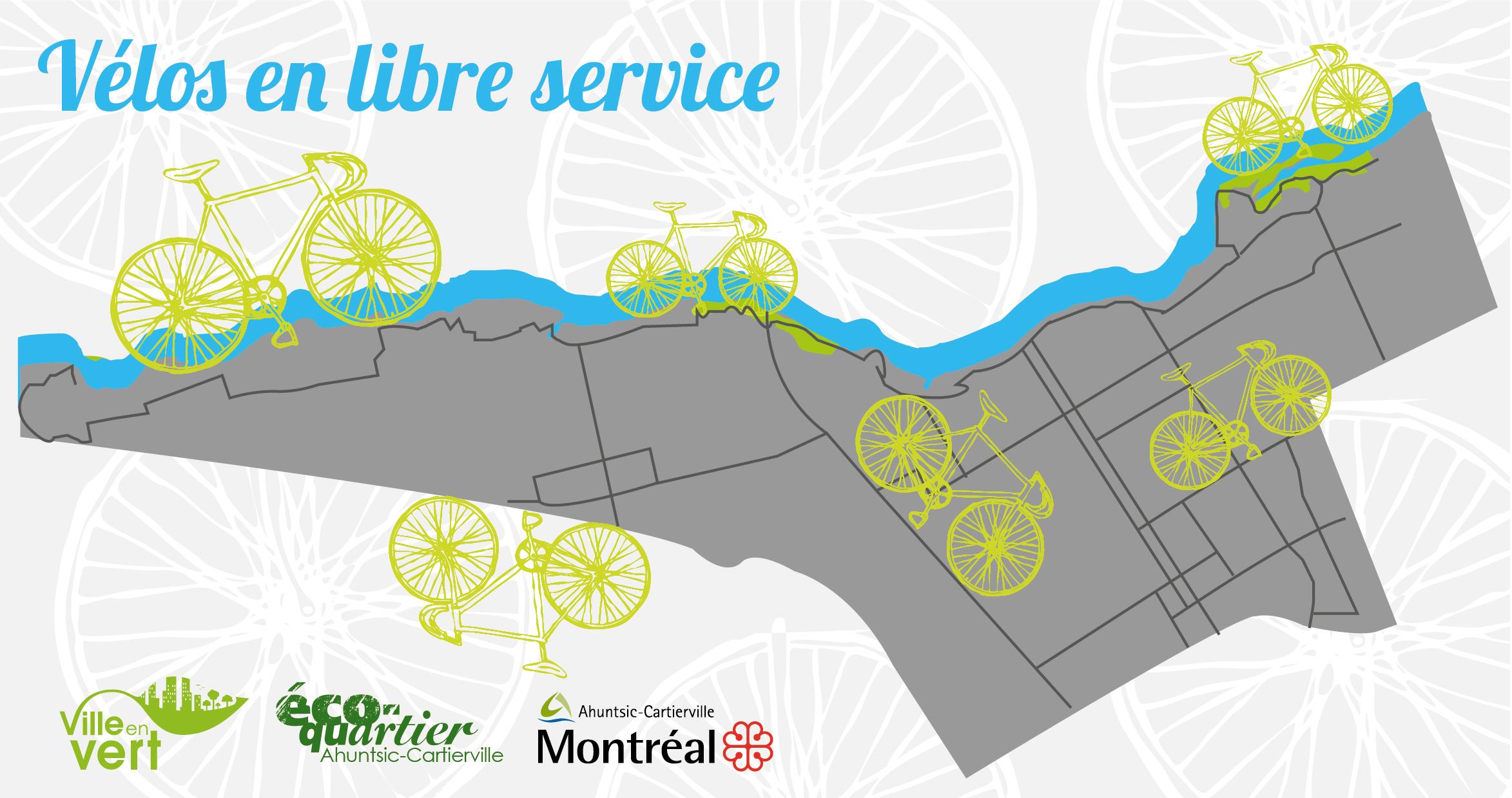 prêt gratuit de vélos