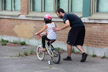 Jamais monté à vélo