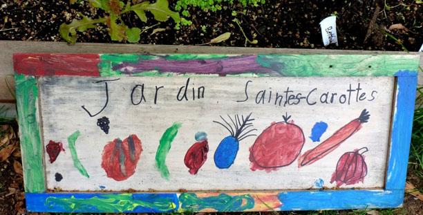 Jardin Saintes Carottes