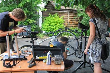 Kiosque vélo