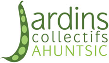Logo Jardins Collectifs Ahuntsic