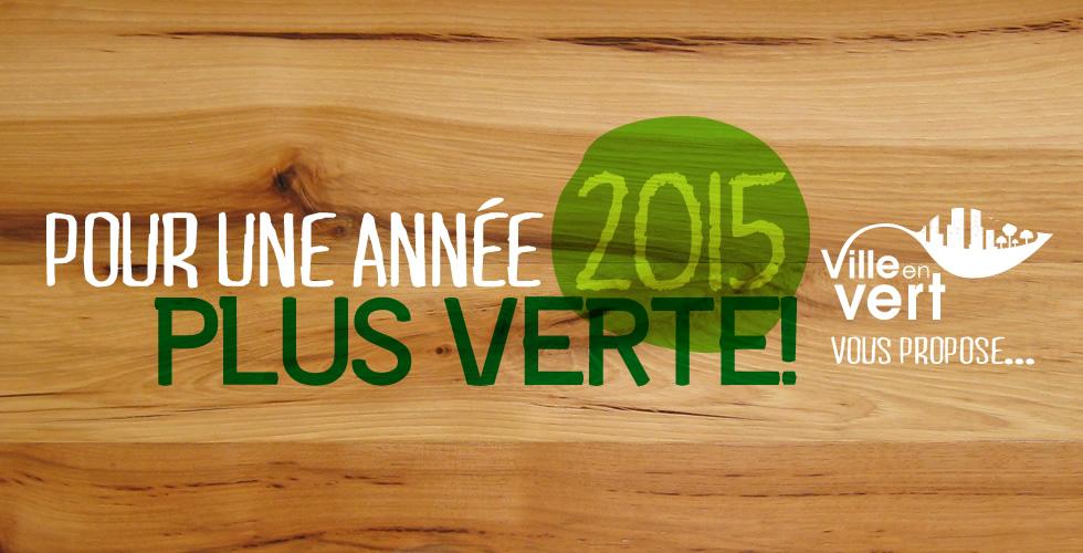Résolutions vertes 2015