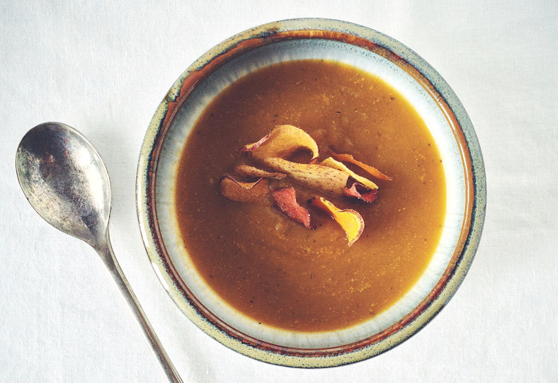 Soupe touski, soup, leftover soup, food waste, gaspillage alimentaire