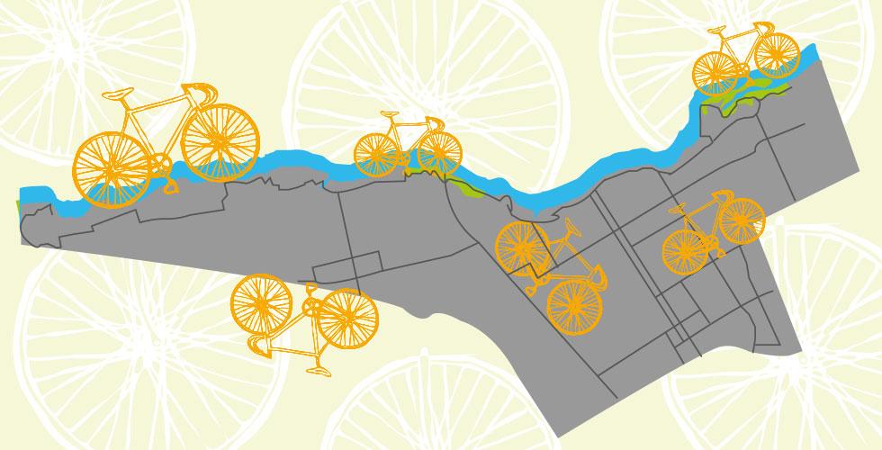 Vélos en libre service